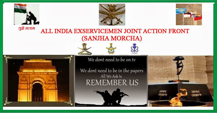 All India Exservicemen Joint Action Front (Sanjha Morcha)